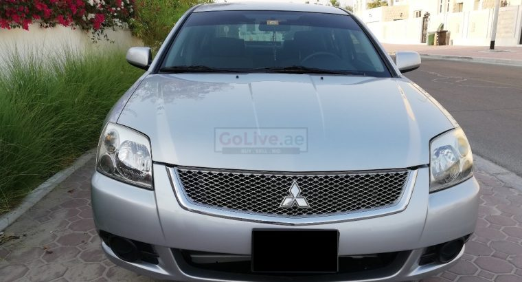 MITSUBISHI GALANT 2012, GCC, ACCIDENT FREE, WELL MAINTAINED, 2 KEYS