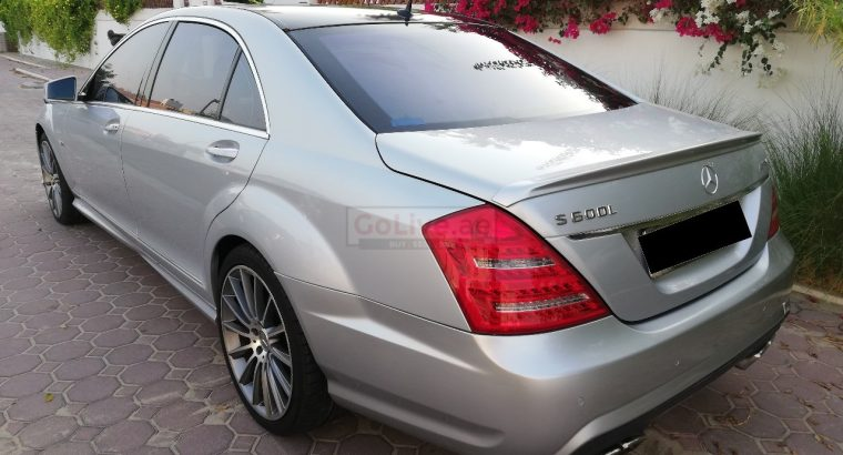 MERCEDES AMG S600 V12 2008, EXCELLENT CONDITION, ACCIDENT FREE