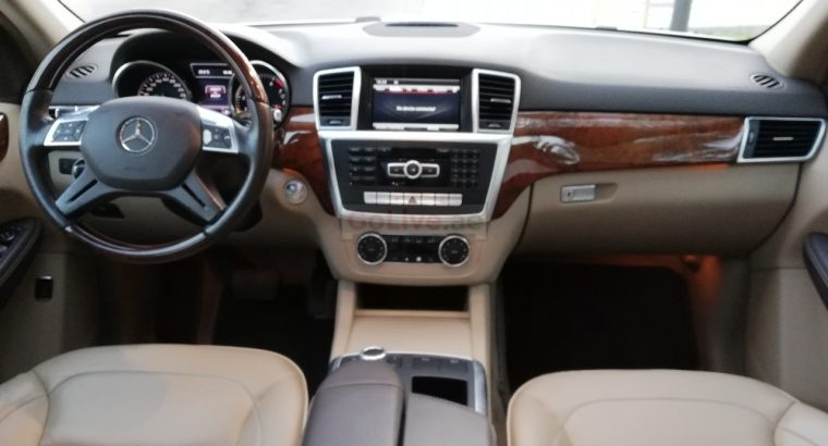 MERCEDES BENZ ML 350 2013,04 MATIC,TOP OF THE LINE,PANORAMIC,ACCIDENT FREE