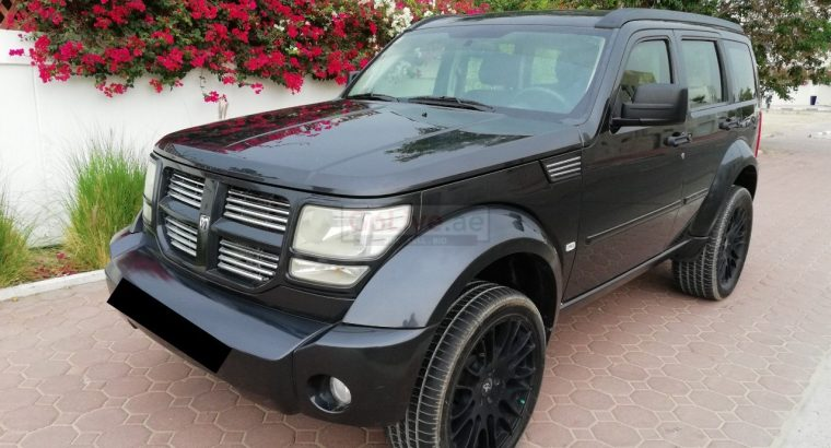 DODGE NITRO 2011,SXT,FULLY AUTOMATIC,4WD,GCC,WELL MAINTAINED