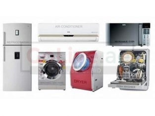 We do all kind of washing machines fridge dishwasher repairing