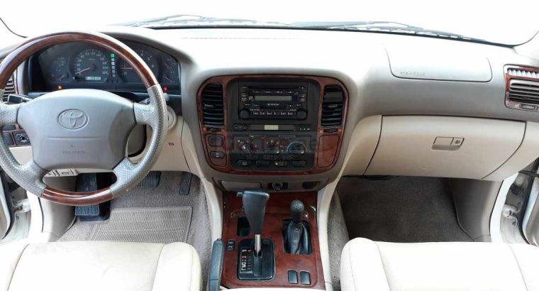 LAND CRUISER 100 GXR 2002 FULL OPTION