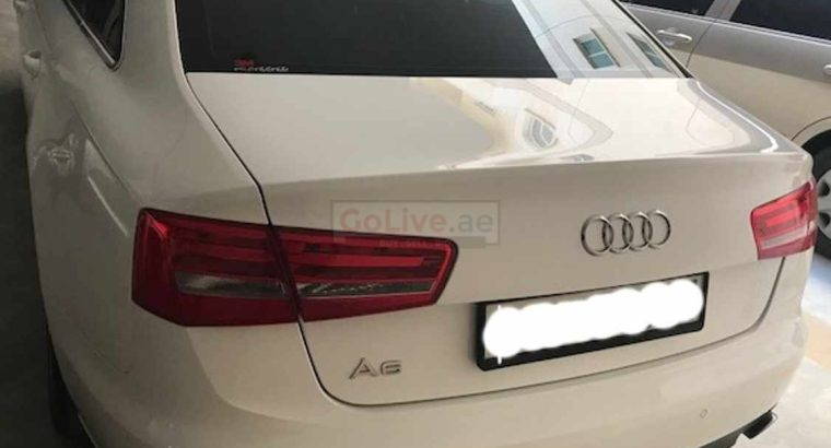 Audi A6 2014 GCC SPECS in great condition