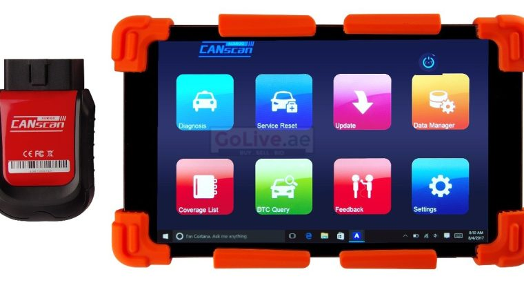 All in One WiFi Tablet – CANscan PRO Automotive Diagnostic Computer with Key Programming