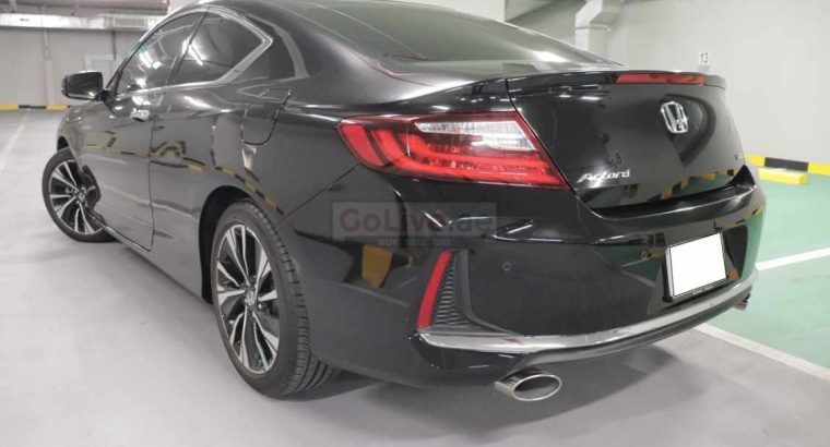 Honda Accord Coupe GCC 2016 (3.5L) 6V