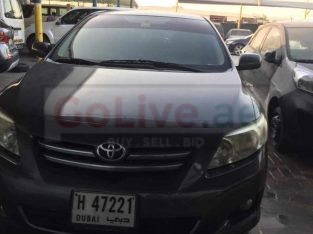 2008 Full Automatic Toyota Corolla Car for sale