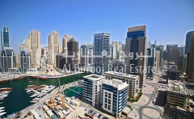 Amazing ROI-Full Sea View-Best Location in Dubai Marina