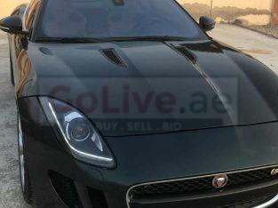 Jaguar F type supercharged gcc