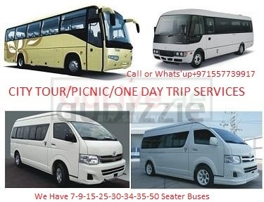 Buses and cars Available for RENT