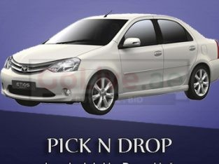 Car left pick and drop any place with the best price