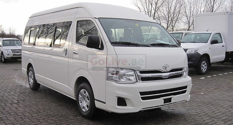 NEW TOYOTA HIACE 14 SEATER AVAILABLE FOR RENT COMPANIES WEEKEND TRIPS