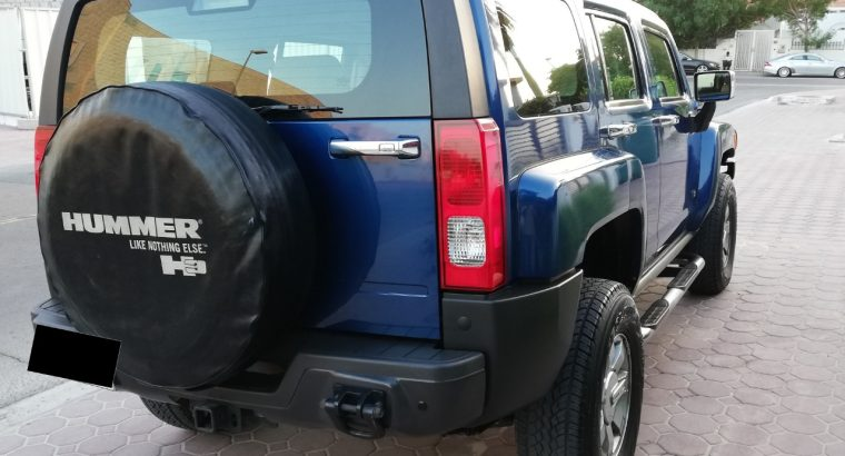 HUMMER H3 2006,NO 1 OPTION,92000KM ONLY,GCC,MINT CONDITION,FSH,FIXED PRICE
