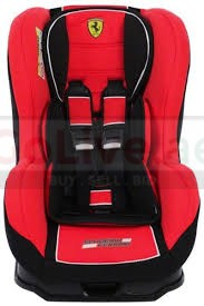 FERRARI Car Seat (0-4) – Urgent Sale as Leaving