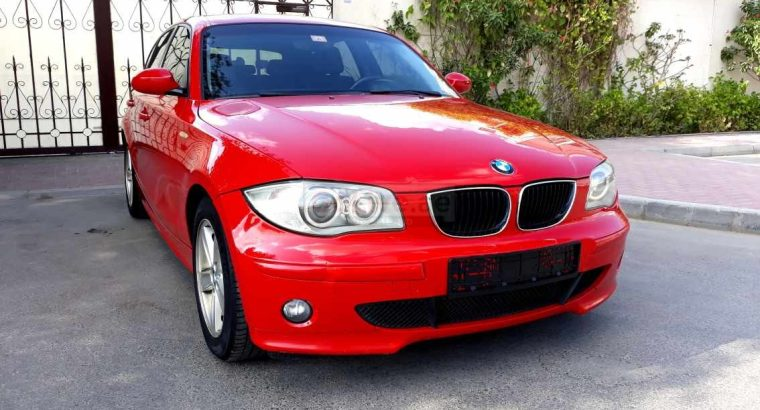 BMW 118i MID 2007 (ACCIDENT FREE, CLEAN AND NEAT)