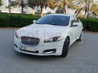 Well maintained Jaguar XF, single owner