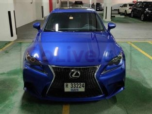 Lexus IS350 F-Sport GCC from Al Futtaim with Warranty and Service Contract
