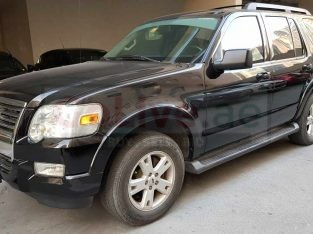 Ford Explorer, Black, 2009 well maintained