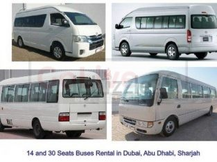 Passengers Van 15 Seats on rent in Abudhabi