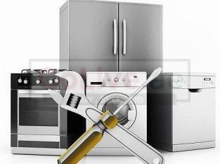 Washing machine – fridge – AC repair