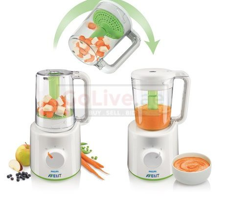Avent baby steamer and blender