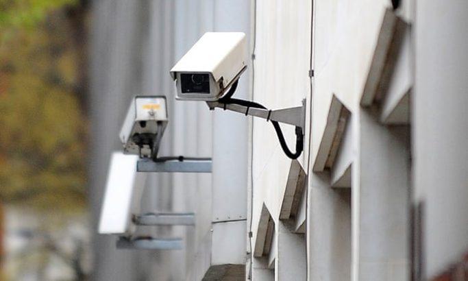 CCTV camera system cabling, setup and configuration