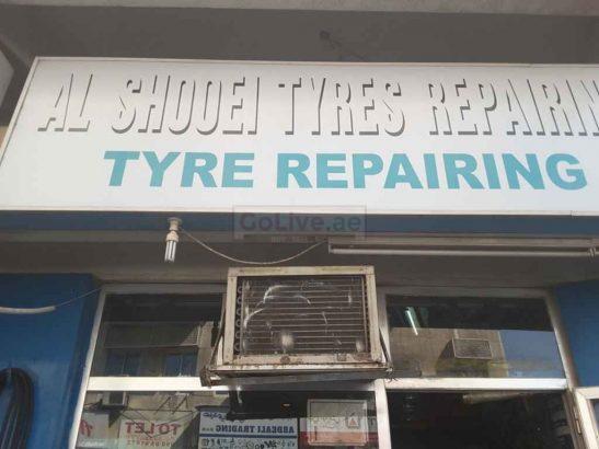 Al Shooei Tyres Repairing