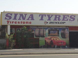 Sina Tyres