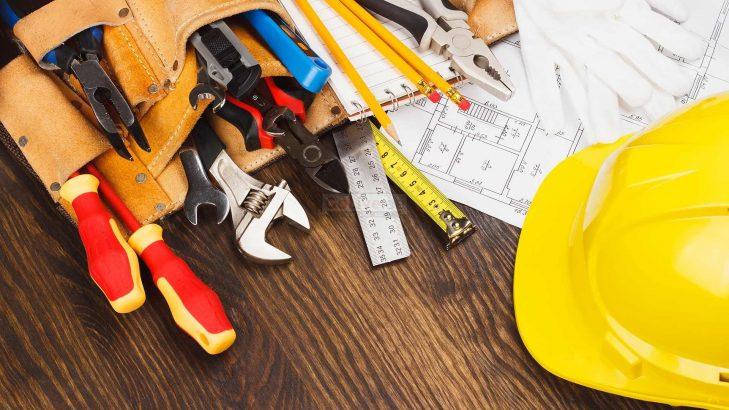Gypsum and carpentry work