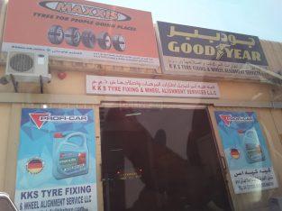 K K S Tyre Fixing & Wheel Alignment Services