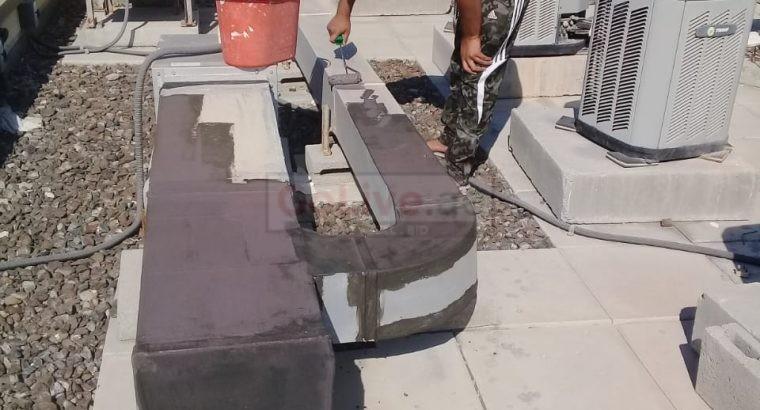 AC Maintenance works