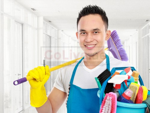 Part time cleaner job