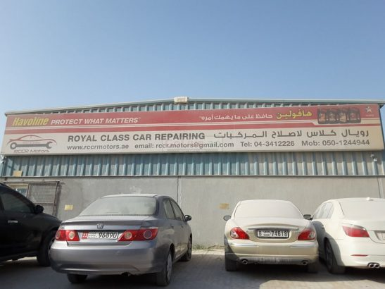 Royal Class Car Repairing