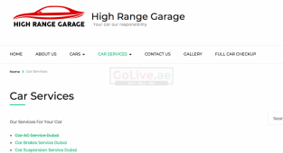 High Range Garage( Auto Repair Service )