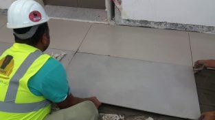 Tiles fixings