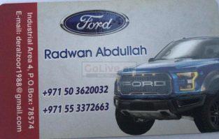 Rizwan Abdullah Ford Used Parts TR LLC (Sharjah Used Parts Market)