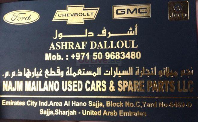 Najm Milano Used Parts TR LLC (Sharjah Used Parts Market)