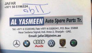 Al Yasmeen Auto Parts TR LLC