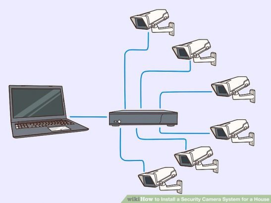 CCTV camera installation and networking