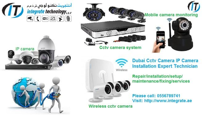 CCTV CAMERA INSTALLATION AT HOME OFFICE