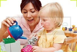Housemaid baby care