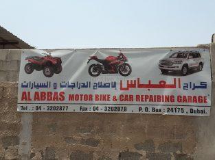 Al Abbas Motorbike and Car Repairing Garage