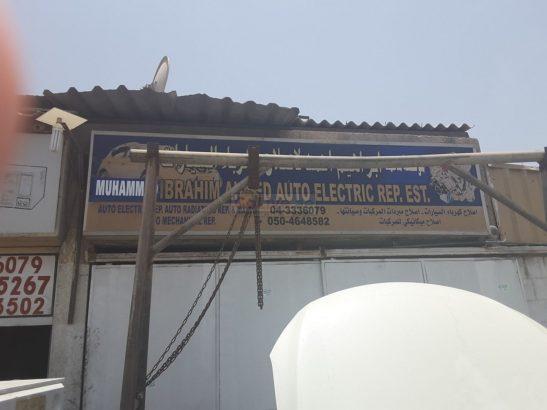 Ibrahim Ahmed Auto Electric Repairing