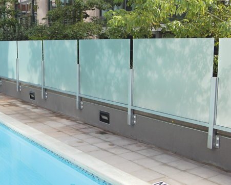 Swimming Pool Glass Fence – Aluminum and Glass Partitions Frames, Windows, Doors
