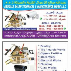 CALL ME FOR ALL KIND OF GENERAL MAINTENANCE