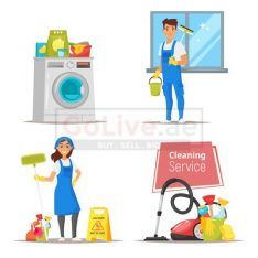 Promo!! Hourly Part Time Maids for 25aed/hr