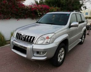 TOYOTA PRADO VX LIMITED 2009,V6 4.0L,4WD,TOP OPTION,GCC,SUNROOF,LEATHER SEATS