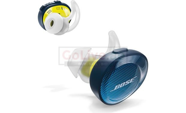 BRAND NEW IN BOX BOSE SOUNDSPORT FREE WIRELESS HEADPHONES YELLOW AND BLUE