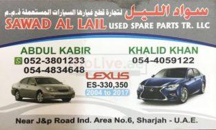 Sawad Al Lial USed Part TR LLC