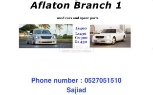 AFLATON USED PARTS TR