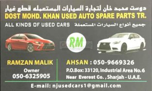 DOST MOHD. KHAN USED SPARE PARTS